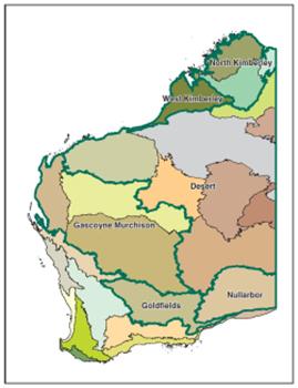 Pryroregions of WA